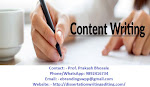eBranding India is the Top Class Content Writing Services in Pune