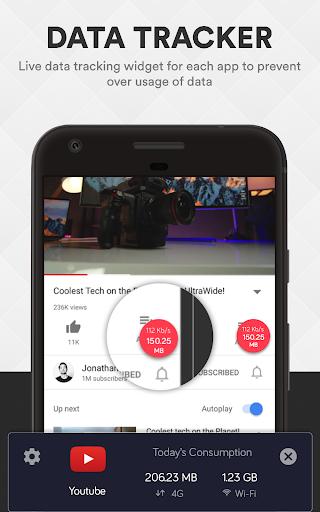 Smart Data Usage Monitor & Speed Test - smartapp screenshot 4