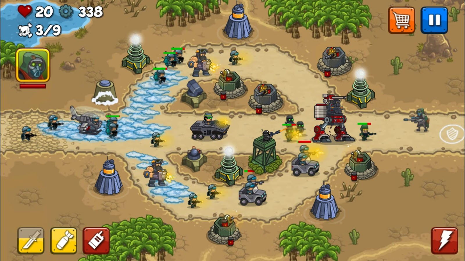 Combat Tower Defense Screenshot 0