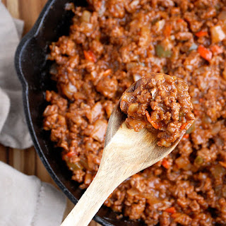 Paleo Sloppy Joes with Sweet Potatoes