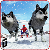 Sled Dog Racing 2017 APK for Bluestacks