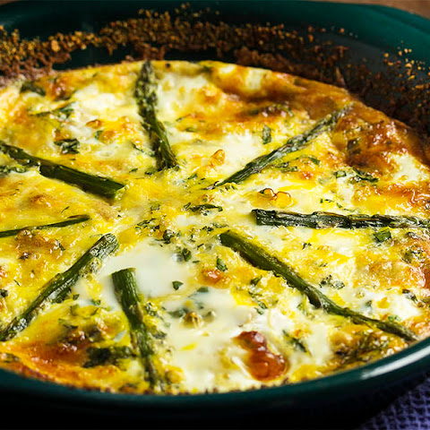 Asparagus and Bacon Crustless Quiche