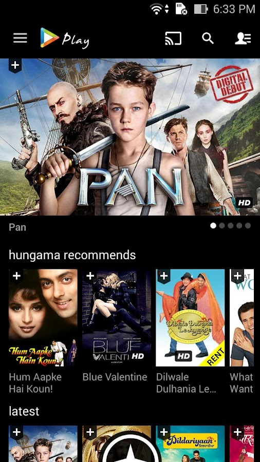 Hungama Play Online Movies App Screenshot 0