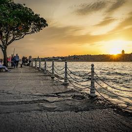 istanbul by Haddouchi Tarik - City,  Street & Park  Street Scenes ( sunset, turkey, istanbul, photography, city,  )