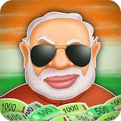 Modi Games: Attack Black Money APK for Bluestacks
