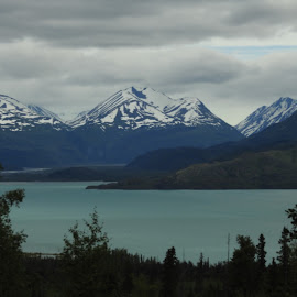 Looking Onto Skilak by Patricia Phillips - Landscapes Travel ( lakes look outs alaska skilak )
