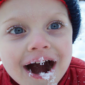 I ATE THE SNOW! by Cindy Swinehart - Babies & Children Children Candids