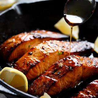 Fried Garlic Salmon Recipes