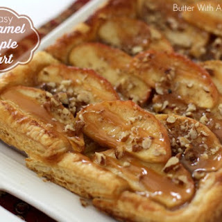 Easy Caramel Apple Tart