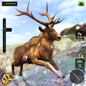 This sniper deer hunting will be more intense in modern FPS shooting game! APK Icon