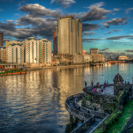 Fort Santiago by Nick Foster - City,  Street & Park  Historic Districts ( spanish, fort santiago, cityscape, manila, philippines, historic, river )