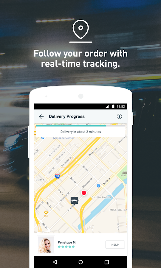 Postmates: Food Delivery, Fast Screenshot 2