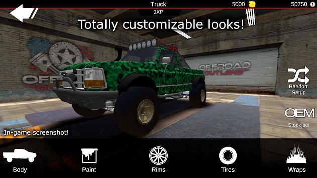 Offroad Outlaws apk screenshot
