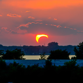 Solar Eclipse by Fitz C - Landscapes Starscapes