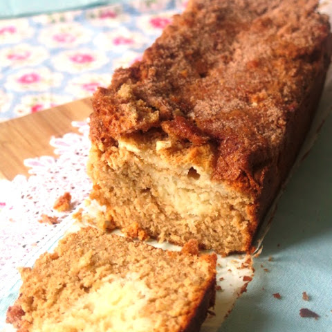Cream Cheese Stuffed Snickerdoodle Apple Bread