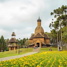 Memorial Ucraniano - Curitipa PR by Rqserra Henrique - City,  Street & Park  City Parks ( flowers, brazil, trees, park, landscape, rqserra )