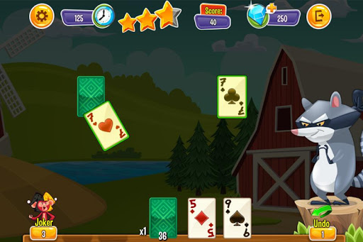 Playful Animal Solitaire - screenshot