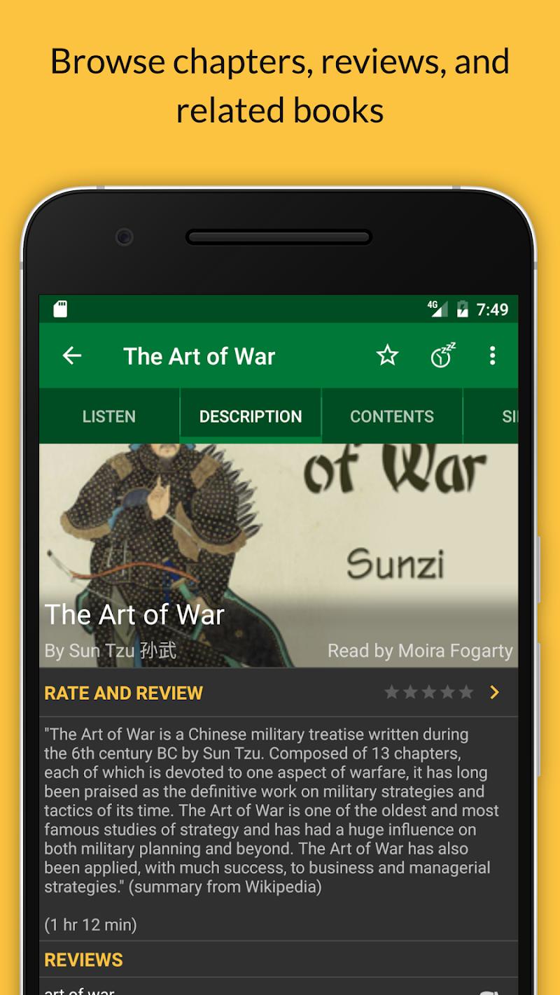 LibriVox Audio Books Supporter Screenshot 2