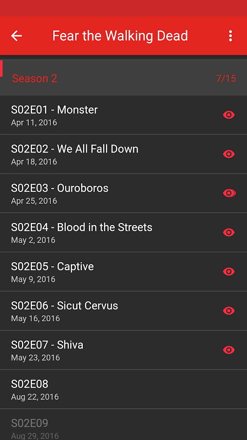 SERIST - Your TV Show Tracker Screenshot 3