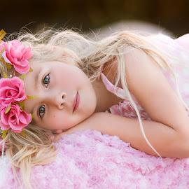 by Liz Straight - Babies & Children Child Portraits ( child, canon, girl, sunset, california, children, summer, pink, beauty )