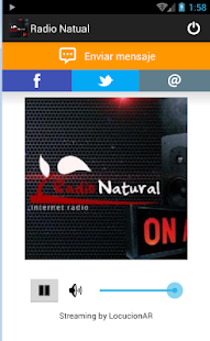 Radio Natural - screenshot