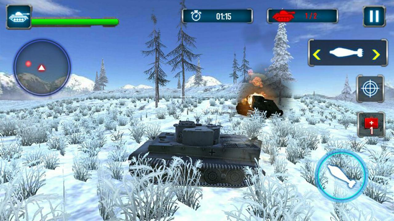 Tank Strike 3D Screenshot 1