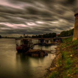Cloud transformation by Irvin Mujčin - Landscapes Cloud Formations ( clouds, wheather, hdr, long exposure, architecture, bridge )