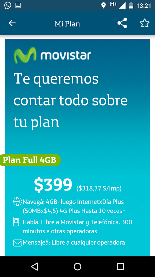 Mi Movistar - AR Screenshot 19