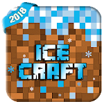 Ice Craft : Winter crafting and building Icon