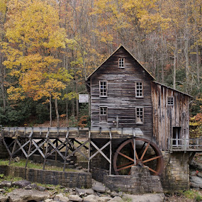 Old Mill by Ann Overhulse - Buildings & Architecture Public & Historical