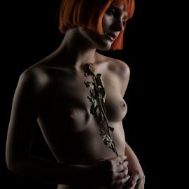 Memories by Reto Heiz - Nudes & Boudoir Artistic Nude ( studio, nude, nudephotography, nudeart, female nude, lowkey, sensual )