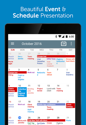 Calendar+ Schedule Planner App screenshot 9