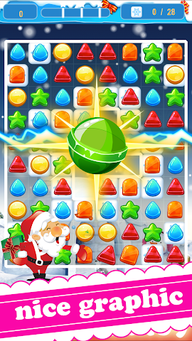 android noël bonbons saga Screenshot 0