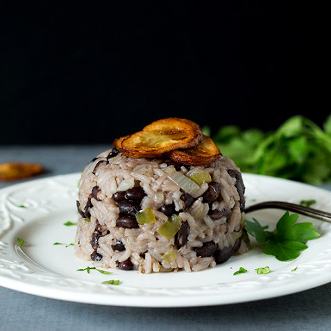 Cuban black beans and rice - Moros Y Cristianos