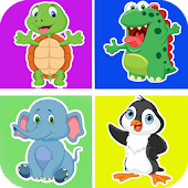 Download Kids memory games - Animals APK