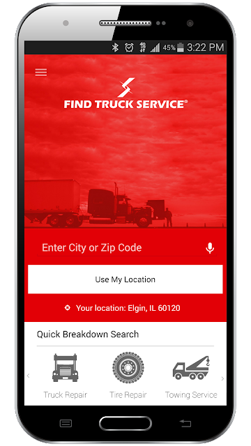 Find Truck Service & Stops screenshots