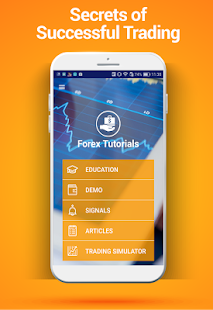 Forex Tutorials screenshot for Android