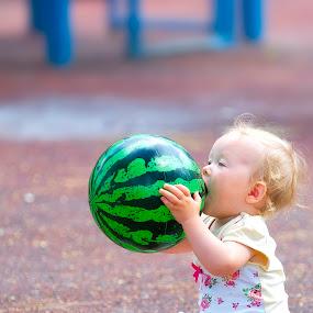 Airmelon by Eric Base - Babies & Children Children Candids ( babies, children, kids, baby )