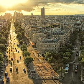 Paris by Marko Dragović - City,  Street & Park  Vistas