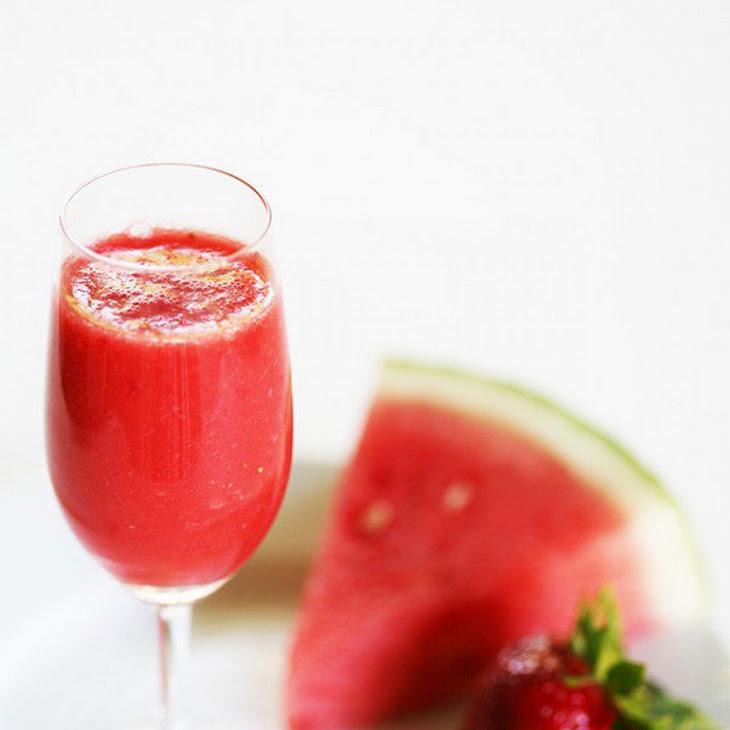 Strawberry Watermelon Agua Fresca Recipe | Yummly