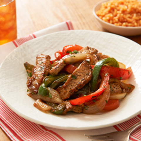 Pork & Pepper Saute with Cumin & Cilantro