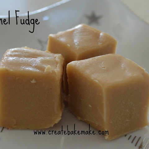 Christmas Baking – Caramel Fudge