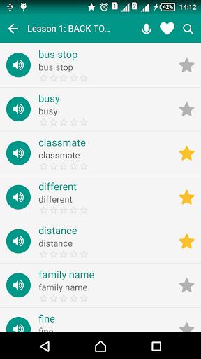 English vocabulary daily screenshot 8