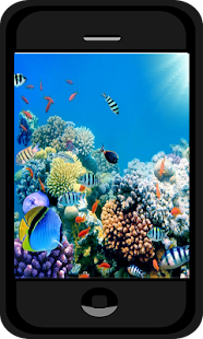 Aquarium Photo background - screenshot