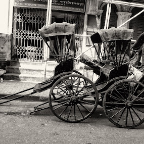 Hand Riksha by Sudip Chowdhury - Transportation Other