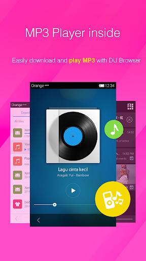 DU Browser—Browse fast & fun screenshot 5