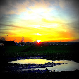 Sonnenuntergang1 by Marianne Fischer - Instagram & Mobile iPhone