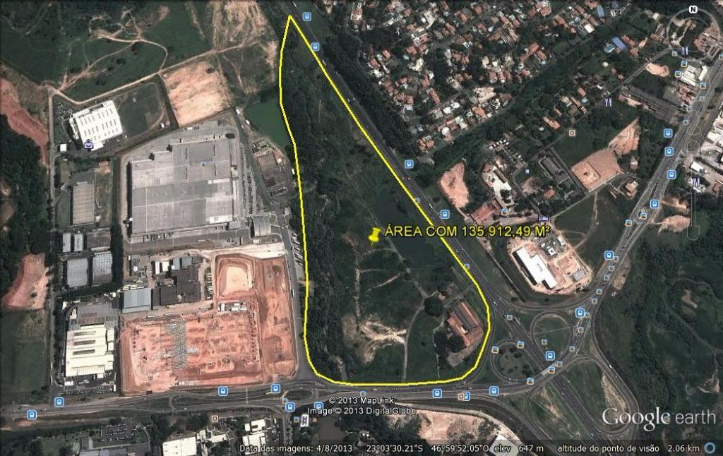 Área residencial à venda, Rodovia Anhanguera, Parque das Paineiras, Vinhedo - AR0004.