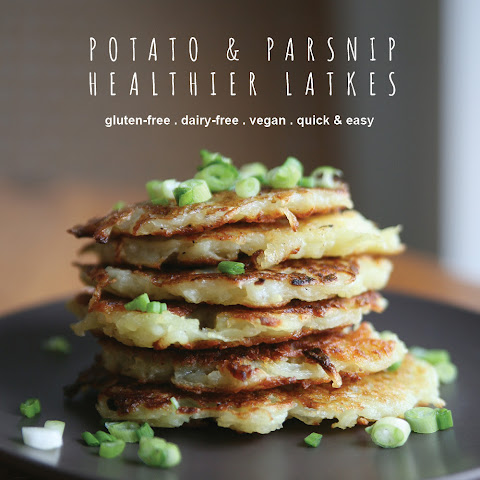 Potato & Parsnip Healthy Latkes