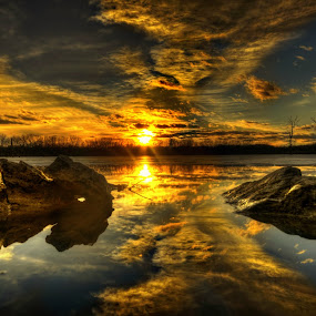 Goldwater  by DE Grabenstein - Landscapes Sunsets & Sunrises ( nebraska,  )
